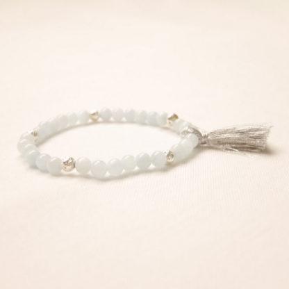 bougie bracelet aromathérapie aigue-marine