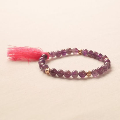 bougie bracelet aromathérapie améthyste
