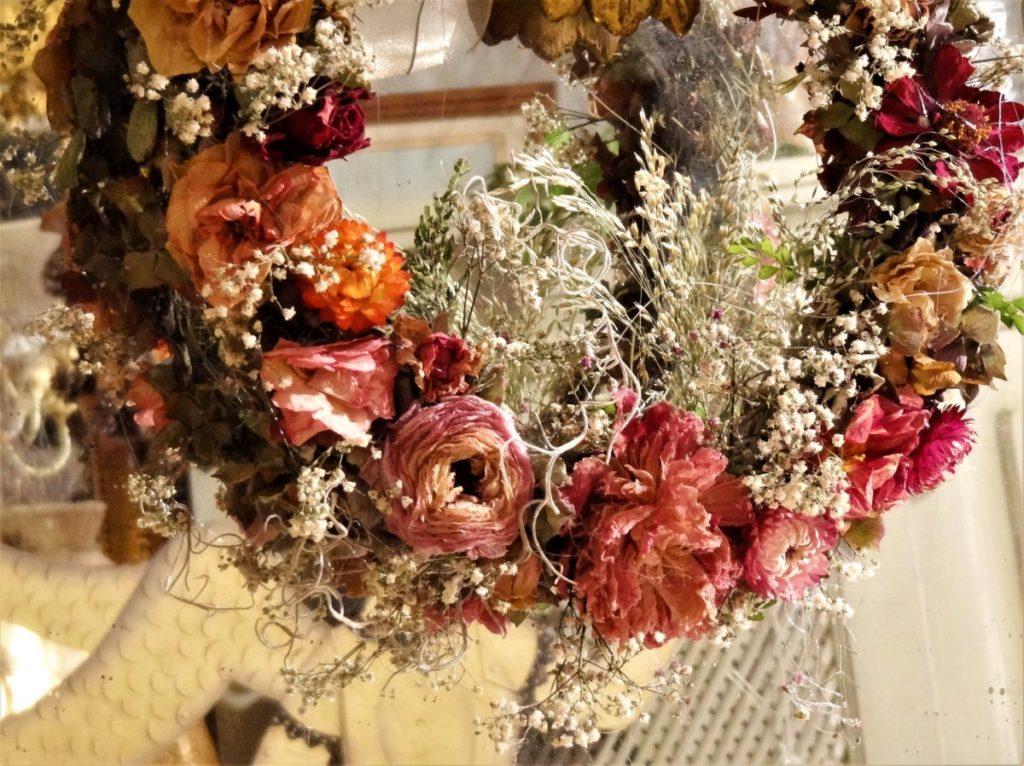 fleurs séchées naturelle